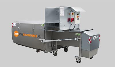 Zorgeloze afvalverwerking met een miniperscontainer